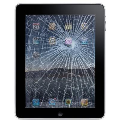 разбитый экран iPad